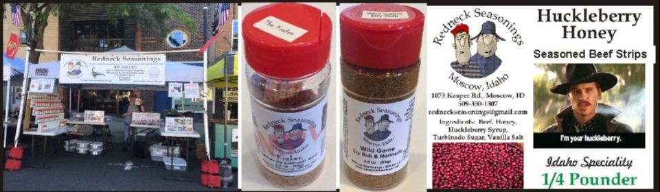 Our Seasoning Salts & Spices - Redneck Seasonings